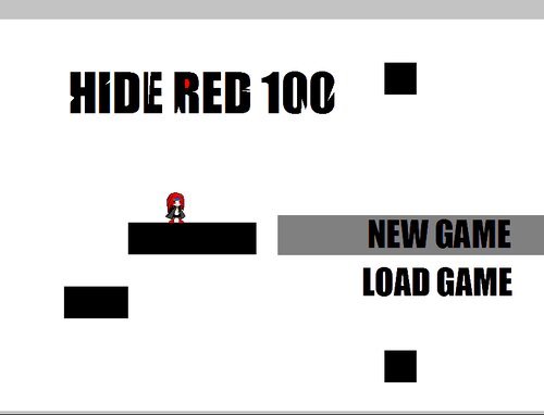 HIDE RED 100 Game Screen Shots