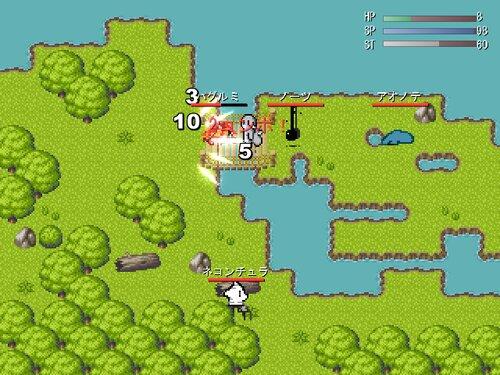 けもっとウォーリアー Game Screen Shot3