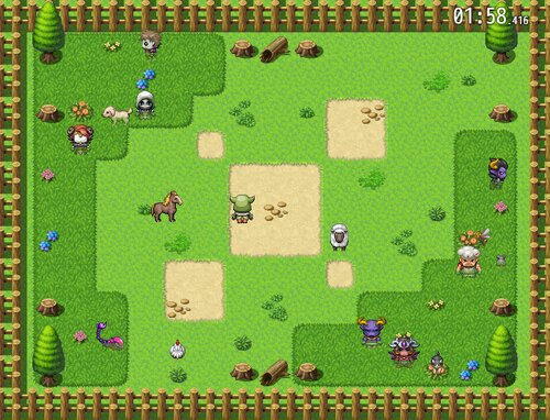 仲間外れパズル Game Screen Shot2
