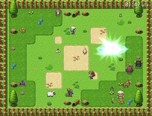 仲間外れパズル Game Screen Shot3