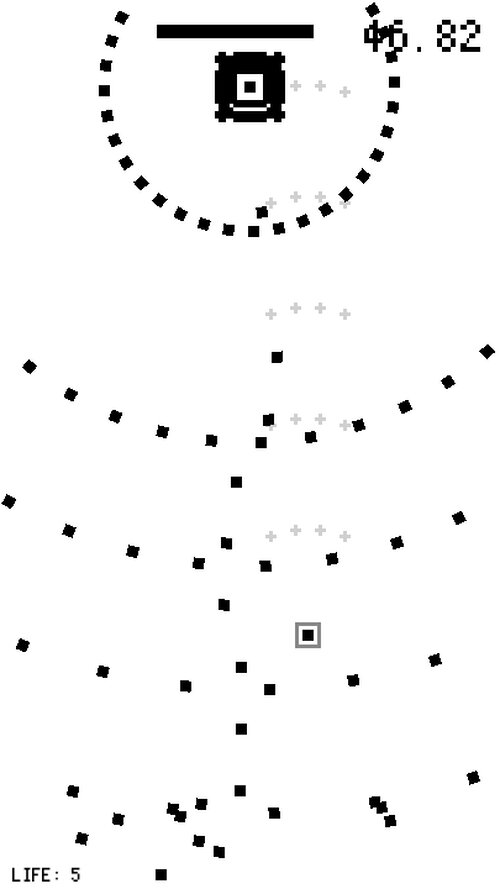 1BIT DANMAKU Game Screen Shots