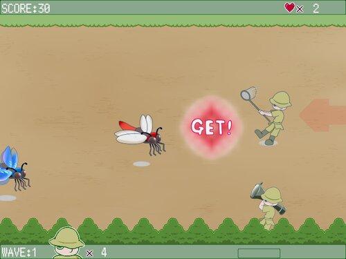 トンボハンター Game Screen Shot