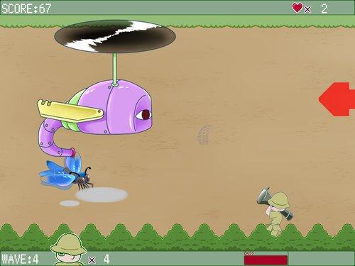 トンボハンター Game Screen Shot2