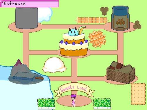 ドルチェのスイーツランド Game Screen Shot2