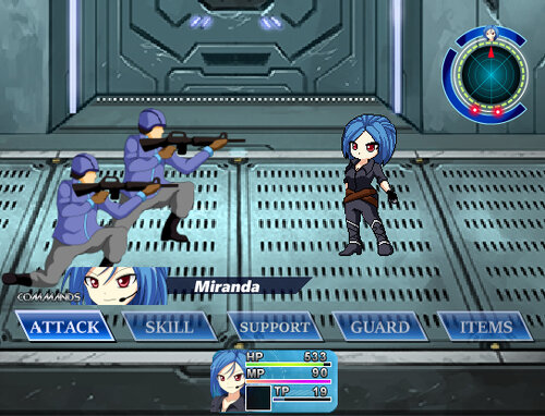 INDIGO TEMPEST(体験版) Game Screen Shot3