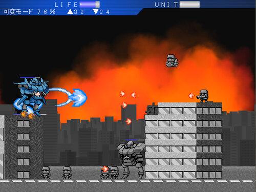 超破壊ロボ ブレイカブル― Game Screen Shot2