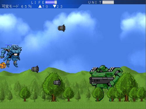 超破壊ロボ ブレイカブル― Game Screen Shot4
