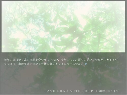 朝焼けのブルーⅤ - Fortissimo episode - Game Screen Shot3