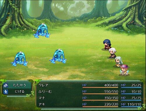 クレアの冒険 ~RPGツクールMVリメイク版~ Game Screen Shot3