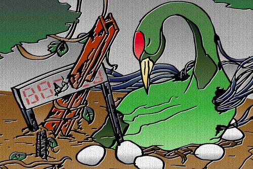 緑のツル、息してる? Game Screen Shot4