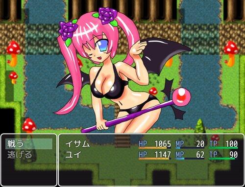 巫女と夢魔と少年と Game Screen Shot4