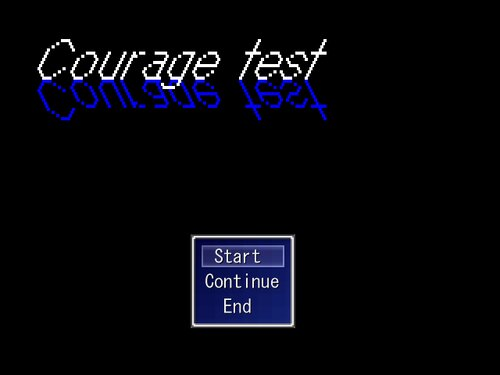 CourageTest Game Screen Shots