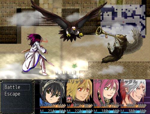 Act1ナイトハルトの魔剣 Game Screen Shot2