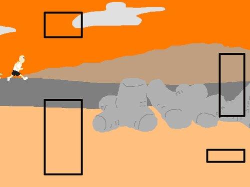 Runner Game Screen Shot2