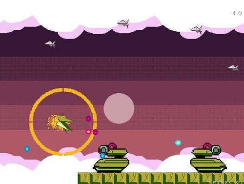楽園は空高く Game Screen Shot1