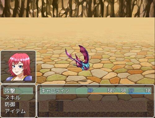 伝説の剣と女騎士 Game Screen Shot2