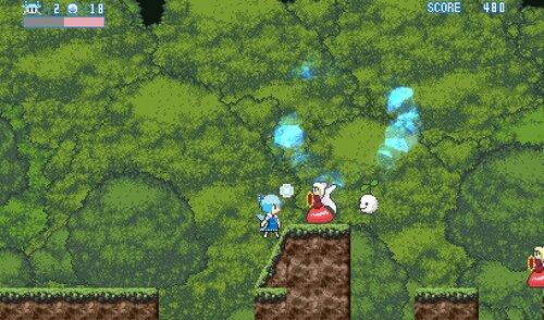 チルノゲーム略してチルゲ― Game Screen Shot