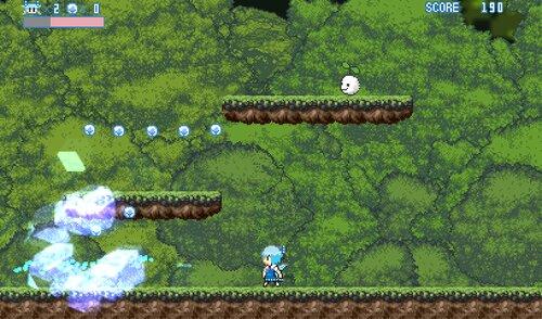 チルノゲーム略してチルゲ― Game Screen Shots