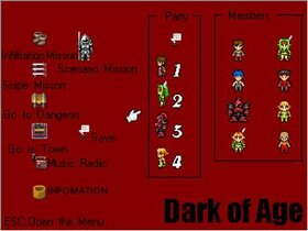 Dark of Age Game Screen Shot3