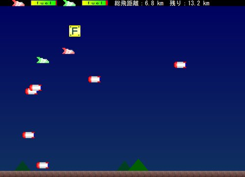Twin Bombers Game Screen Shot1