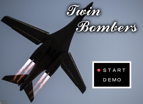 Twin Bombers Game Screen Shots