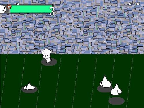 白い人 Game Screen Shot