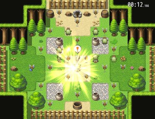 オークの森 Game Screen Shot2