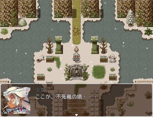 バルビューダと塔の竜たち Game Screen Shot