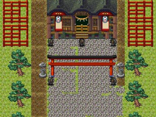 お狐様伝説の疑惑 Game Screen Shot3