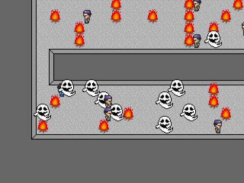地下100階建てのダンジョン Game Screen Shot5