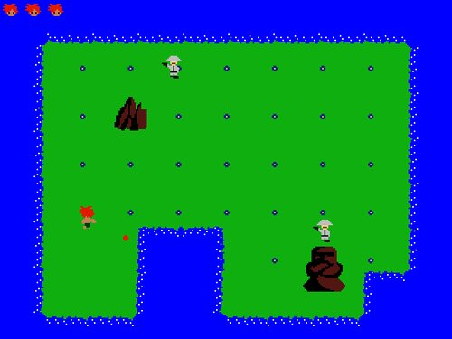 ディアンガの像 Game Screen Shot1