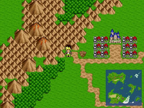 LastPlanet ~空の勇者と赤い大地~ Game Screen Shot1