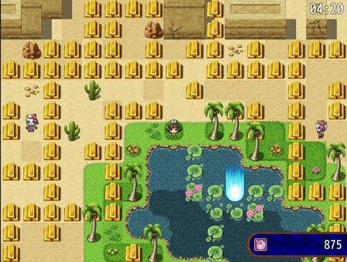 お金が落ちてる! Game Screen Shot1