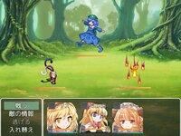 アリスの不思議のダンジョンのゲーム画面