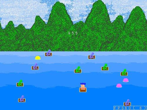 桃がり Game Screen Shot