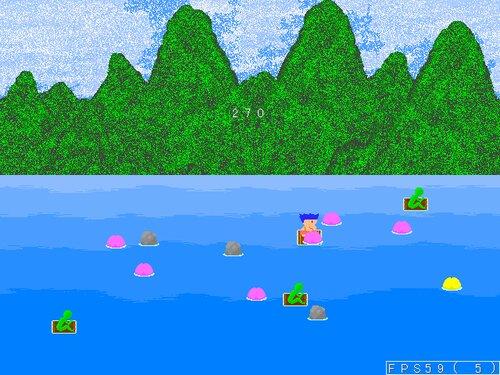 桃がり Game Screen Shot2