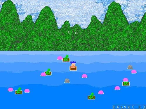 桃がり Game Screen Shot3