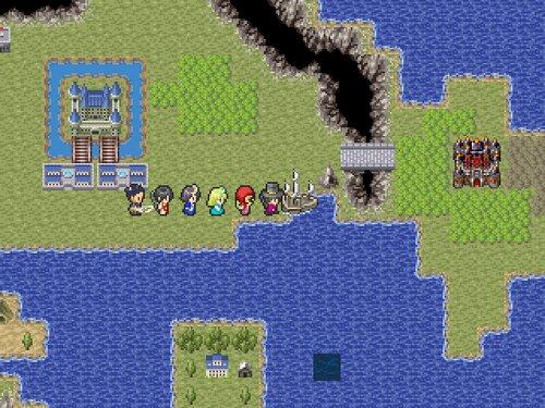 フラグメントワールド Game Screen Shot