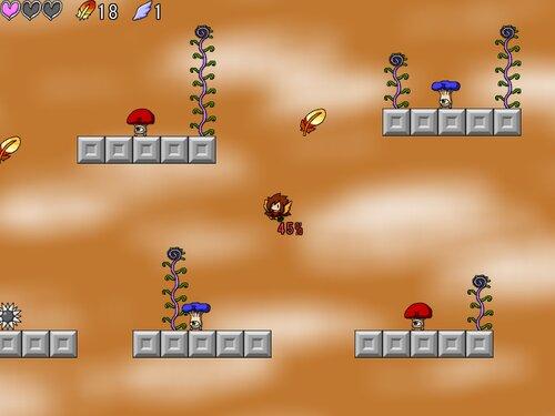 ヴァーミリオンの青空 Game Screen Shot3