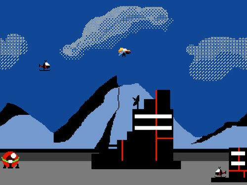 バトルキャリア Game Screen Shot1