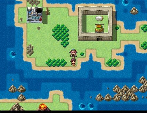 レイとディアナの小さな島 Game Screen Shots