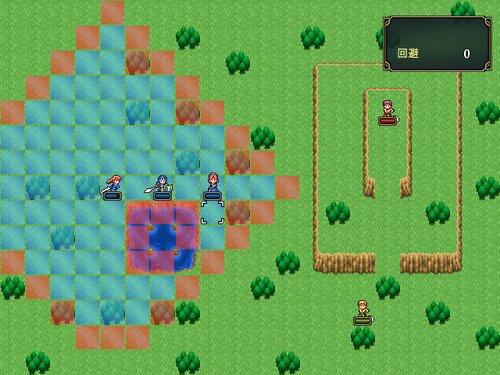 サッツの冒険~闇のドラゴン~ Game Screen Shot1