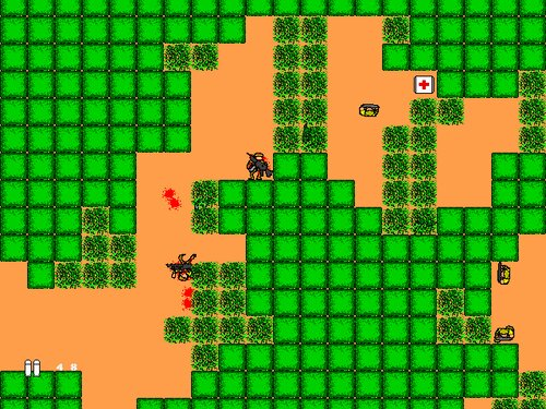 RED ARMS Game Screen Shots