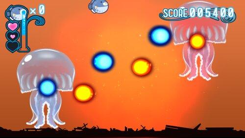 水をはくふぐのゲーム Game Screen Shot4