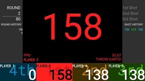 Celestial Darts Game Screen Shot1