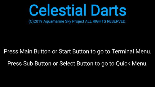 Celestial Darts Game Screen Shot2