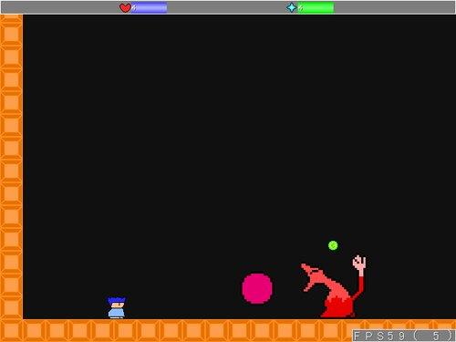 つまらないアクション Game Screen Shot