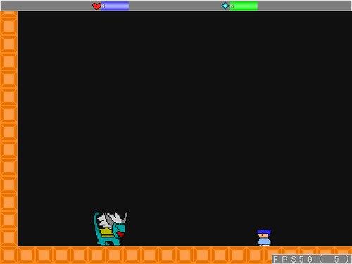 つまらないアクション Game Screen Shot2