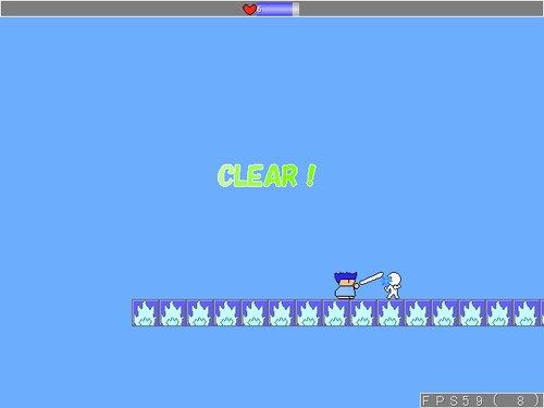 ヤシーユが格闘技に挑戦! Game Screen Shot4