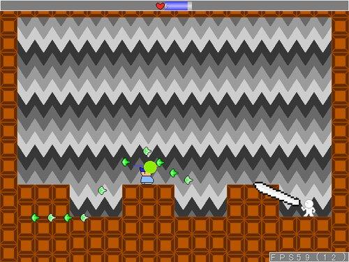 ヤシーユが格闘技に挑戦! Game Screen Shot5